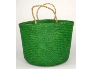 Seagrass round bag